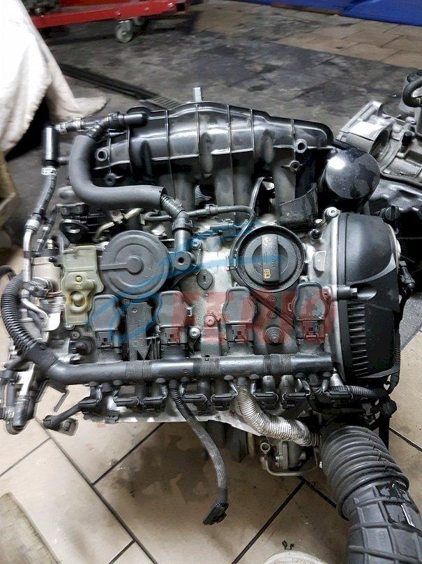 Двигатель (в сборе) для Audi A4 (8K2, B8) 2.0 (CDNC 211hp) 4WD MT