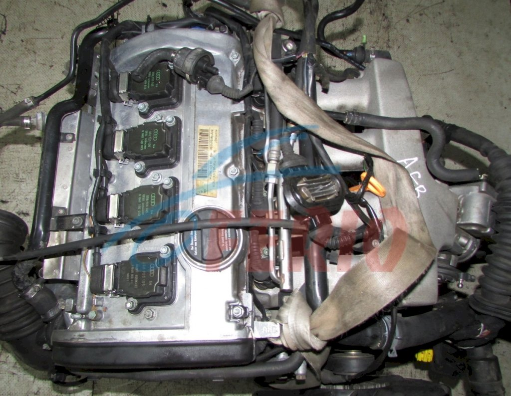 Двигатель (без навесного) для Audi A4 (8D2, B5) 1.8 (AEB 150hp) FWD MT