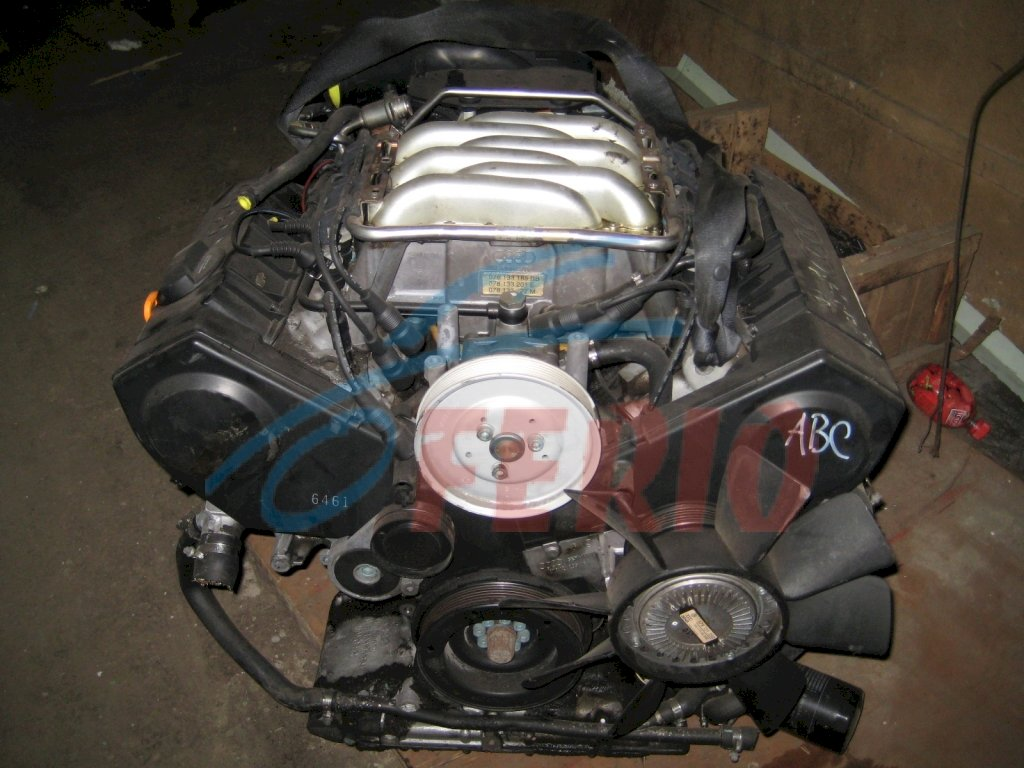 Двигатель (без навесного) для Audi 100 (4A, C4) 2.6 (ABC 150hp) 4WD AT